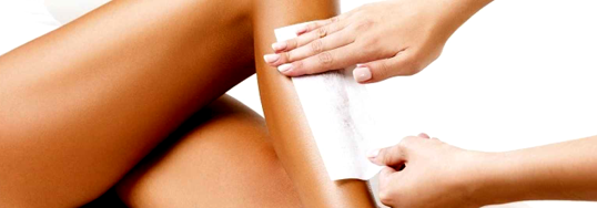 menu epilation cire