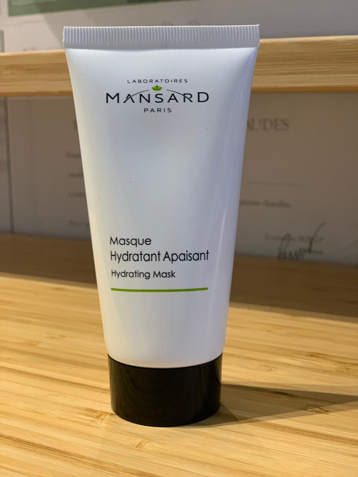 Masque hydratant apaisant 36€