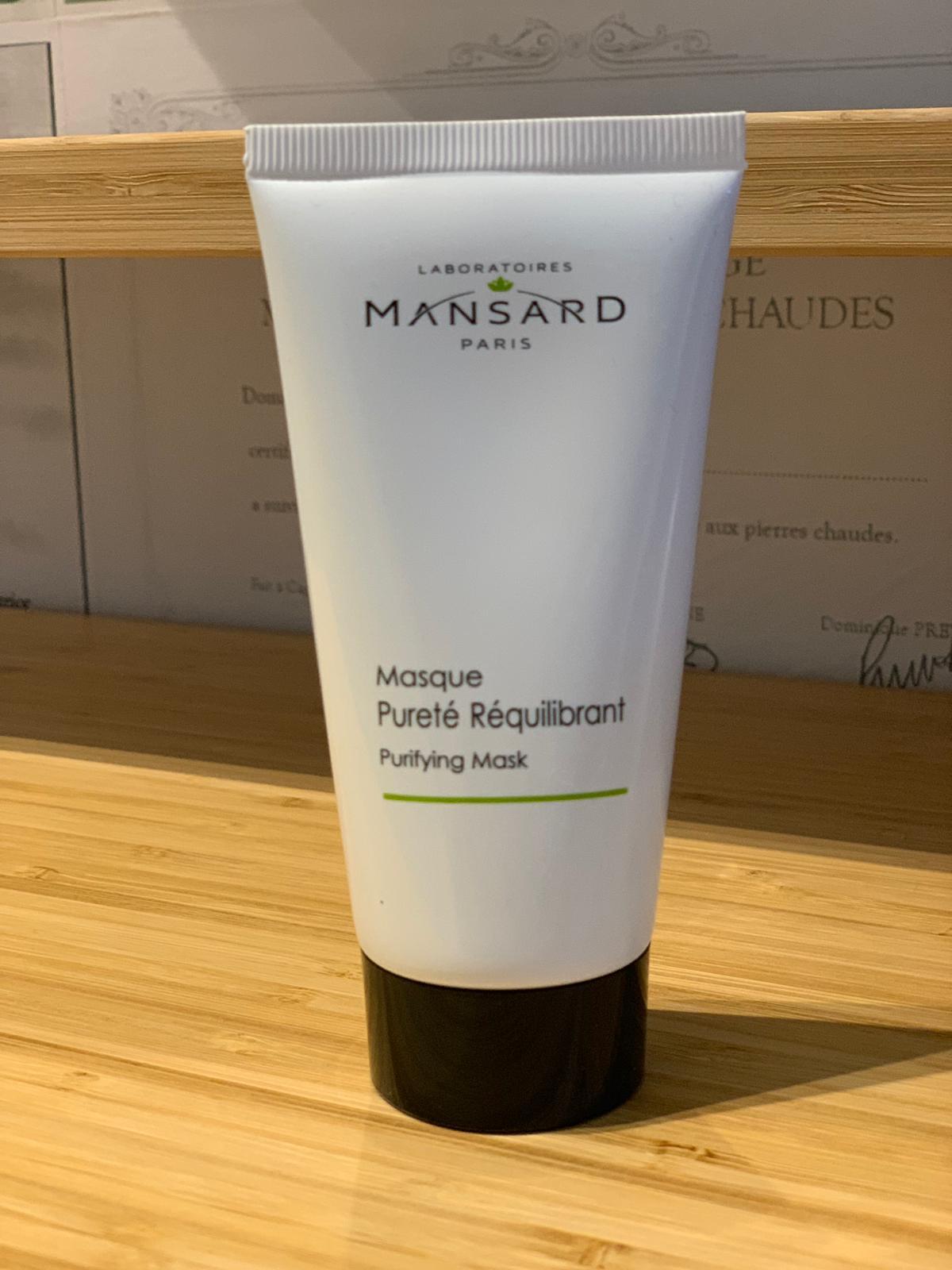Masque pureté rééquilibrant 36,50€